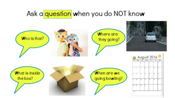 Asking vs. Telling (Questions and Comments) - Social Skill 2