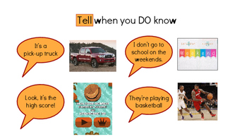 Asking vs. Telling (Questions and Comments) - Social Skill