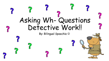 Asking wh Questions