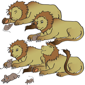 Aesop's Fables The Lion and the Mouse