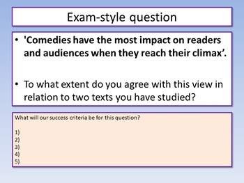 Aspects of Comedy Revision