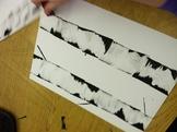 Aspen-Birch Tree Winter Art Project