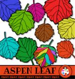 Aspen Tree Clip Art Leaves