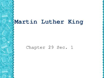 Assasination of Martin Luther King