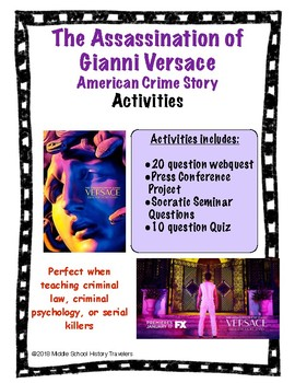 Assassination of Gianni Versace: American Crime Story Activites