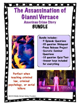 Assassination of Gianni Versace: American Crime Story Bundle