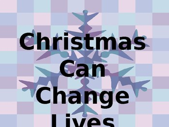 Assembly Christmas Can Change Lives