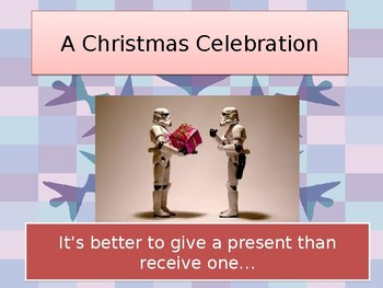 Assembly Christmas It's Better To Give Than Receive