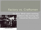 Industrial Revolution Assembly Line Activity