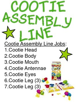 Assembly Line Lesson with Cootie and I Love Lucy