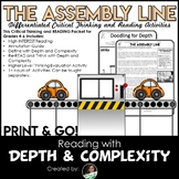 Assembly Line | Reading Comprehension Passage and Questions