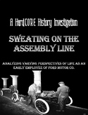 Assembly Line Work & Ford Motor Co.: A Common Core & Research Based Lesson