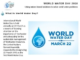 Assembly: World Water Day