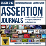 Assertion Journal ULTIMATE Bundle: Rhetorical Analysis and Argumentation