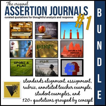 Assertion Journal Bundle #1: A Year of Quotations for Analysis and Response