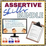 Assertive Communication Skills Powerpoint and Workbook Bundle