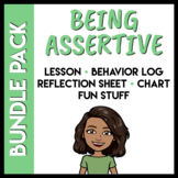 Assertive Social Skills Bundle Pack (Distance Learning Com