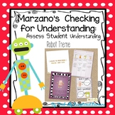 Marzano Student Checking for Understanding--Robot Theme