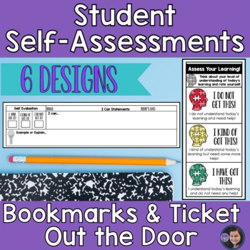 Assess Your Learning Bookmarks and Ticket out the Door