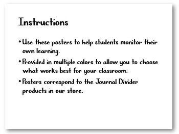 Assess Yourself - Level of Mastery Posters