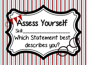 Assess Yourself Mustache Theme Posters