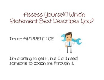 Assess Yourself: Posters for the Classroom
