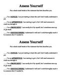 Assess Yourself Slip