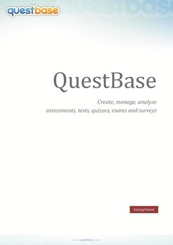 Assess and Grade Your Students with QuestBase