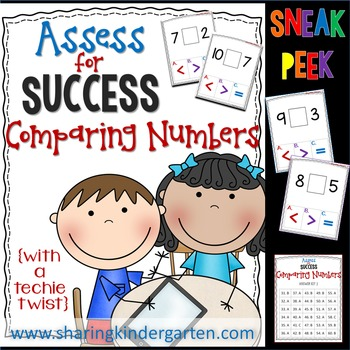 Assess for Success Comparing Numbers
