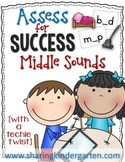 Assess for Success {Middle Sounds}