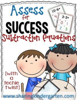 Assess for Success {Subtraction Equations}