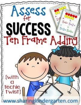 Assess for Success {Ten Frame Adding}