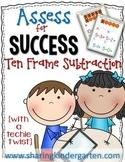 Assess for Success {Ten Frame Subtraction}