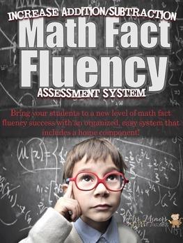 Assess,Organize,Record,& Differentiate Math Fact Fluency S