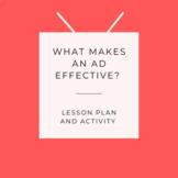 Assessing Advertisements - Activity  & Lesson Plan