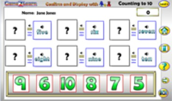 Assessing Counting to 10 with Q&A Android App PREVIEW