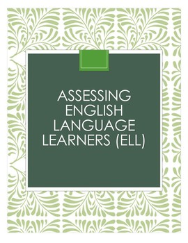 Assessing ELL students