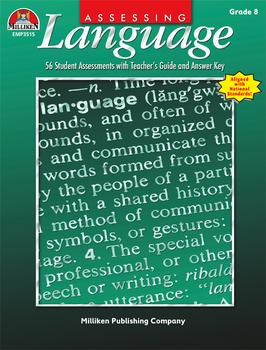 Assessing Language - Gr 8