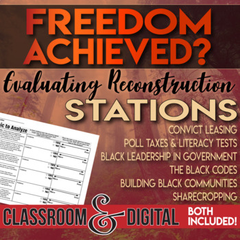 Assessing Reconstruction Primary Source Stations Freedom Achieved?
