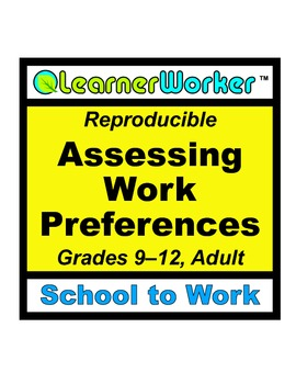Assessing Work Preferences