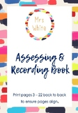 Assessing and Recording Printable Book
