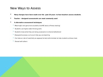Assessing and Reporting Children's Progress - PowerPoint