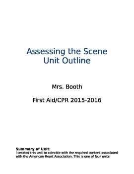 Assessing the Scene Unit