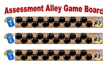 Assessment Alley Voc. and Word Analysis - Workstation Game and IREAD Practice