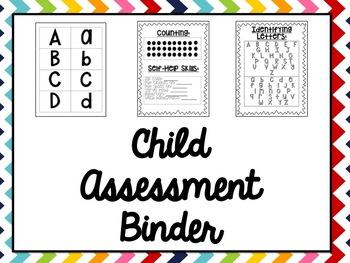 Assessment Binder