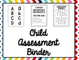 Assessment Binder