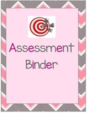 Assessment Binder Cover