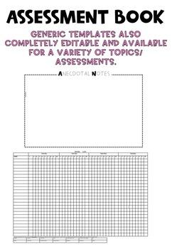 Assessment Book Tropical 2 (Multicoloured leaf)