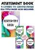 Assessment Book Watercolour 2 Theme (bright rainbow colours)