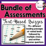 Assessment Bundle for English Language Arts Skills, CCSS Aligned